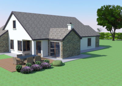 Ardfert: a new single storey with attic accommodation dwelling