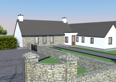 Tipperary (1): Renovation and extension to a old cottage, approx 100 years old