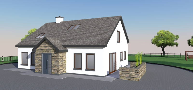 Tralee: a new single storey with attic accommodation dwelling