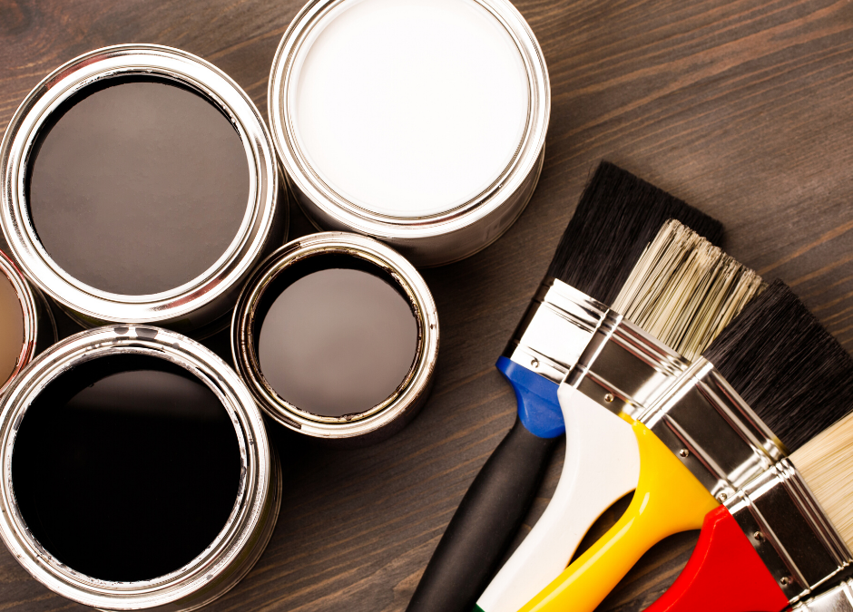 Choose your paint colours and finishes for your home wisely