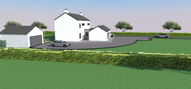Ballyporeen: New build house in Tipperary