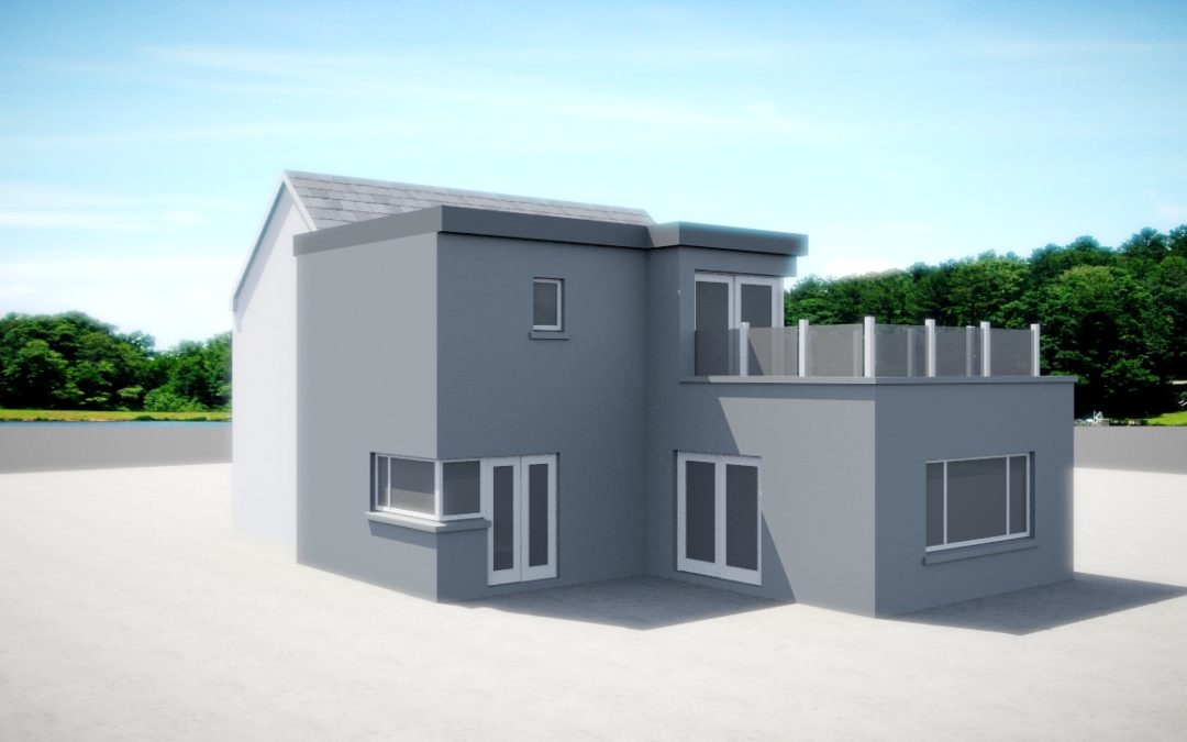 Fenit: renovation & extension to a 1930's Farm House