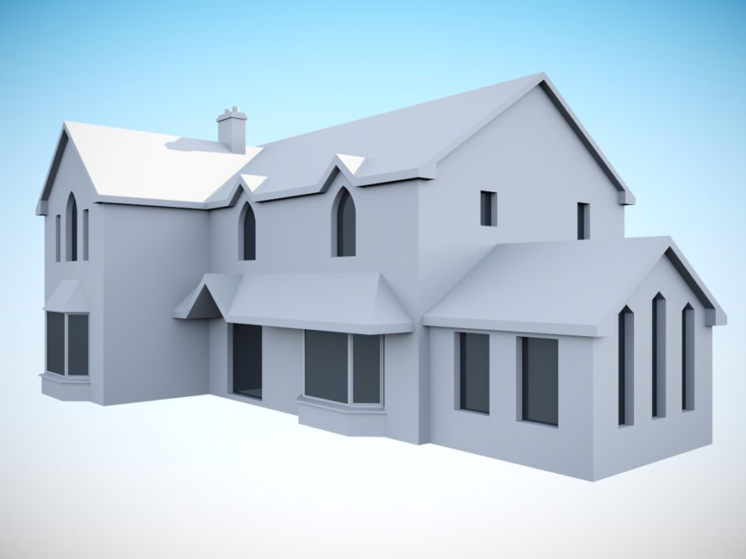 Clonakilty: 2No extensions to a house in an urban setting