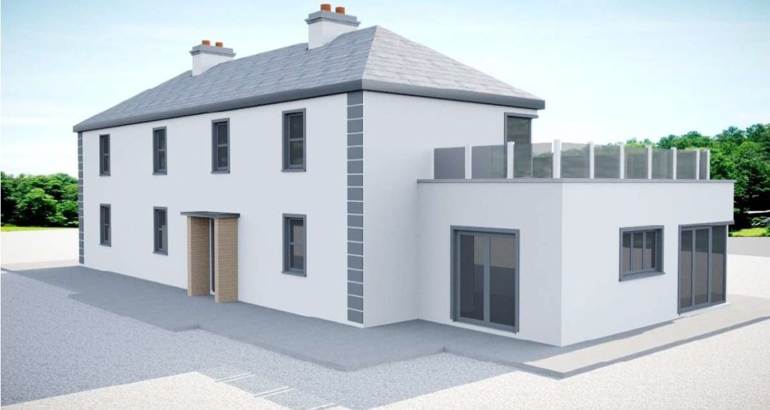 Tarbert: renovation & extension to a 1920's Farm House with amazing views over the Shannon Estuary